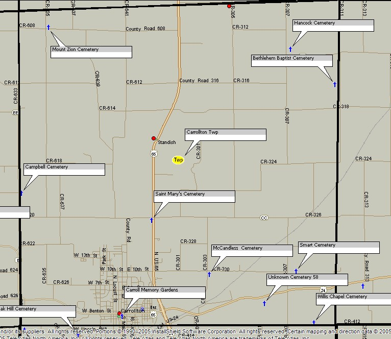 carroll county  missouri  genweb project home page