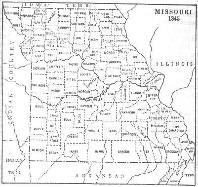 Image Result For Missouri State Map