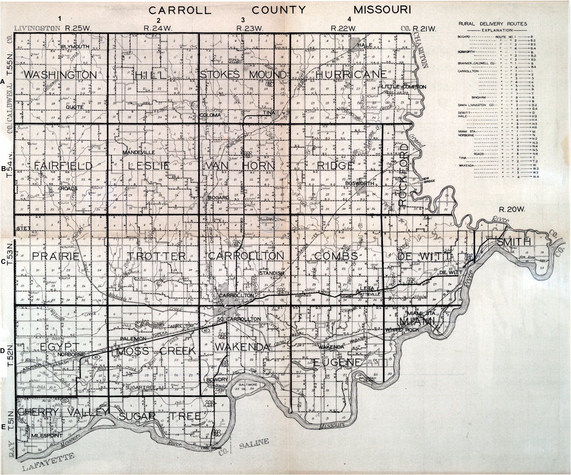 Image Result For Dallas County Mo Plat Map